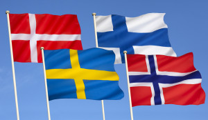 Scandinavian flags, nordica sales and rentals marbella